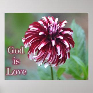 Poster O deus é cargo do amor
