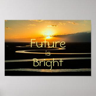 Poster O futuro é Bright   inspirador