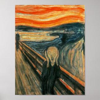 Pôster O gritar Edward Munch gritar