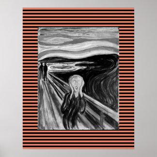 Poster O gritar por Edvard Munch