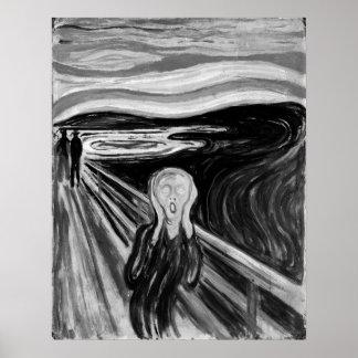 Pôster O gritar por Edvard Munch