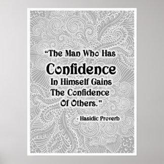 Pôster O homem que tem - Quote´s positivo