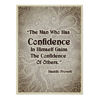 Poster O homem que tem - Quote´s positivo