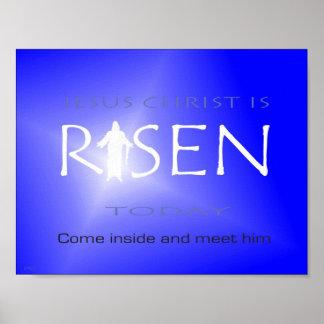 Poster O Jesus Cristo é aumentado hoje