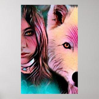 Poster O lobo para dentro