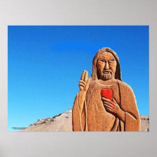 Pôster O padre no deserto