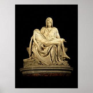 Poster O Pieta por Michelangelo
