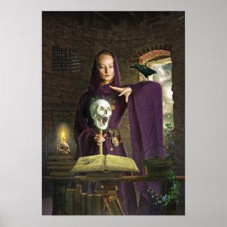 Poster O Sorceress que molda seu período