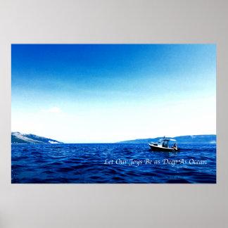 Poster Oceano