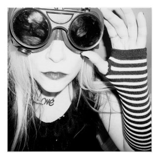 Pôster Óculos de proteção da soldadura