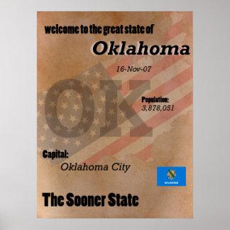 Pôster Oklahoma mais logo o clássico do estado