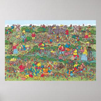 Pôster Onde está Waldo | Giants hostil