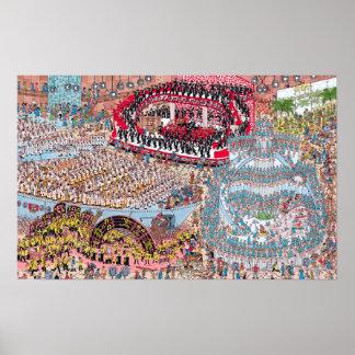 Poster Onde estão a canção e a dança tremendas de Waldo |