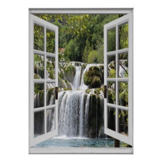 Poster Opinião Trompe da cachoeira - l ' janela