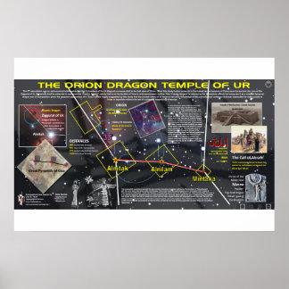 Poster Orion - templo do dragão de Ur 2