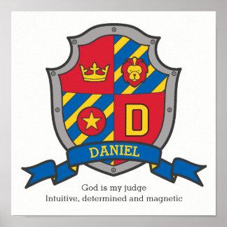 Poster Os meninos de Daniel nomeiam o protetor da