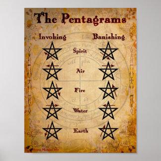 Pôster Os PENTAGRAMS