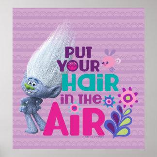 Pôster Os troll | pôr seu cabelo no ar 2