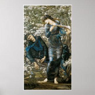 Poster ou impressão das belas artes de Merlin