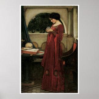 Poster ou impressão das belas artes do Waterhouse