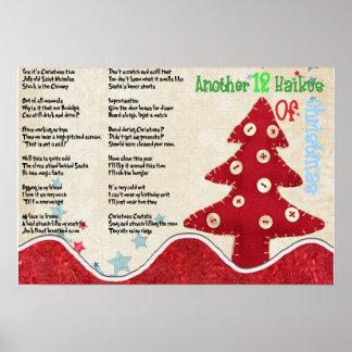 Poster Outros 12 Haikus do Natal