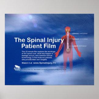 """Poster paciente 20"""" do filme de ferimento espinal"""
