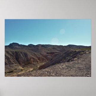 Poster Paisagem do deserto de Nevada
