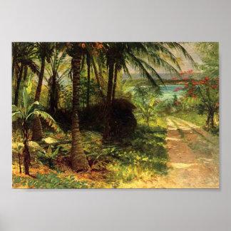 Poster Paisagem tropical