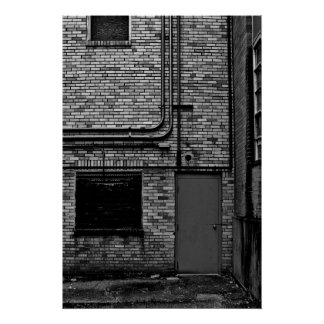 Pôster Paisagem urbana; Segundo grau condenado - 01