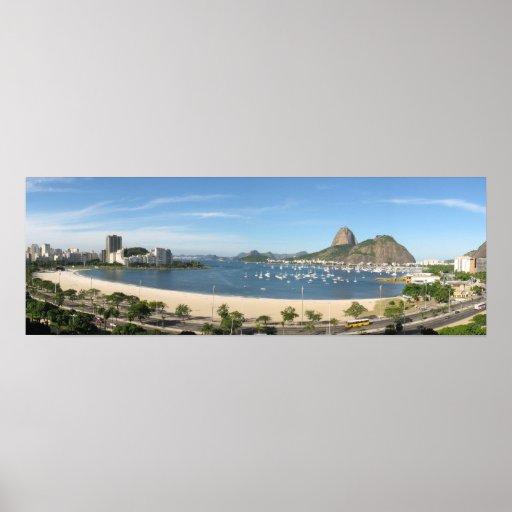 Poster Panoramica Rio de Janeiro