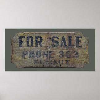 Poster para a venda