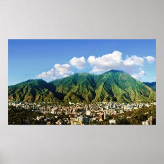 Poster Parque nacional de Avila, -16:9 de Caracas,