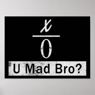 Pôster Partilha por zero - U Bro louco? (Poster)