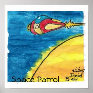 Poster Patrulha do espaço #1