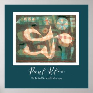 Poster Paul Klee - a soga farpada com os ratos