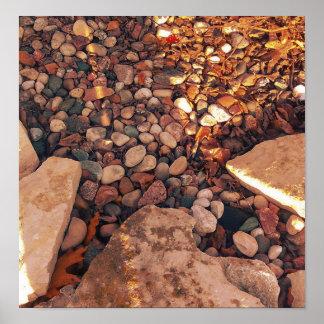 Poster Pedras mornas