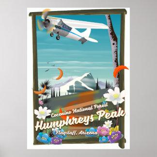 Pôster Pico de Humphreys, pico de Humphreys, mastro,