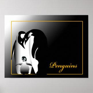 Pôster Pinguins