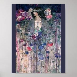 Pôster Pintura inglesa do Fairyland