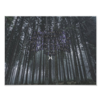 Poster Poema de Segovia Amil Witchy
