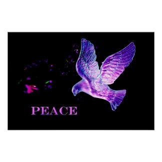 Pôster Pomba da paz