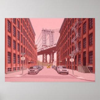 Poster Ponte de Manhattan