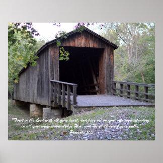 Pôster Ponte histórica