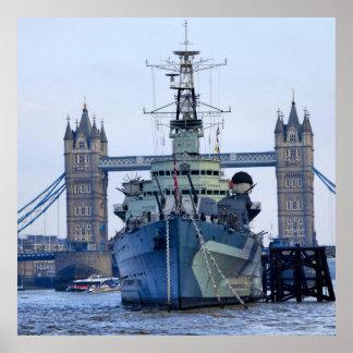 Poster Ponte Londres da torre