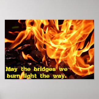 Poster Pontes ardentes