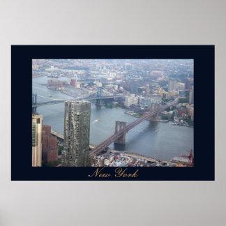Poster Pontes em New York