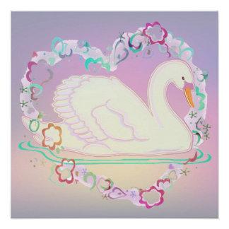 Pôster Poster da princesa 20x20 da cisne