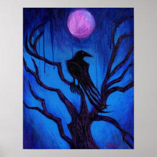 """Pôster """"Poster do corvo nunca mais"""""""