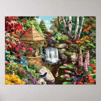 """Poster """"Poster do jardim secreto"""" de Alan Giana"""