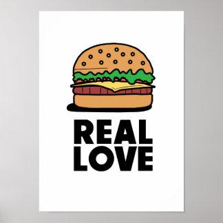 """Poster """"Poster engraçado dos amantes do fast food do"""